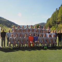 DJK Prinzbach freut sich über neue Mannschaftstrikots