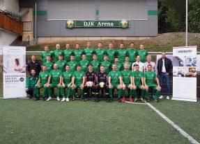 DJK Prinzbach freut sich über neue Mannschaftstrikots zum 50 jährigen Jubiläum